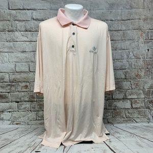 FootJoy Mens Pro Dry Lisle Golf Polo Shirt Sz XXL